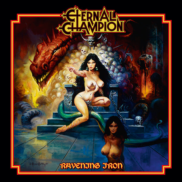 ETERNAL CHAMPION - Ravening Iron LP (PREORDER)