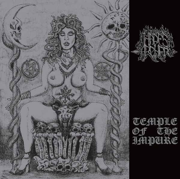 HADES ARCHER - Temple Of The Impure LP