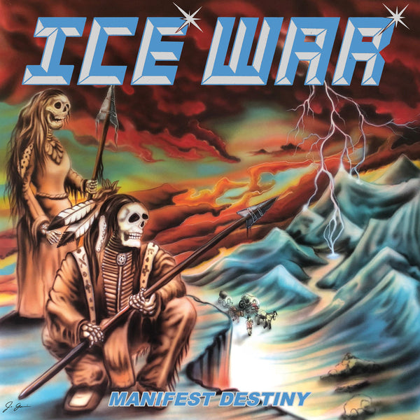 ICE WAR - Manifest Destiny LP