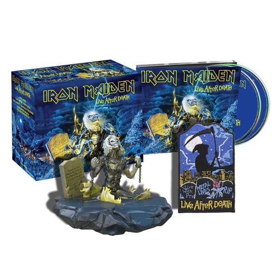 IRON MAIDEN - Live After Death 2CD BOX