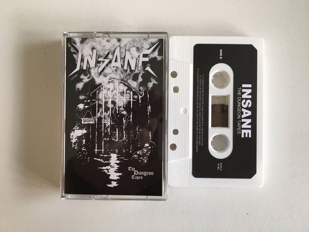 INSANE - The Dungeon Tapes MC (WHITE)
