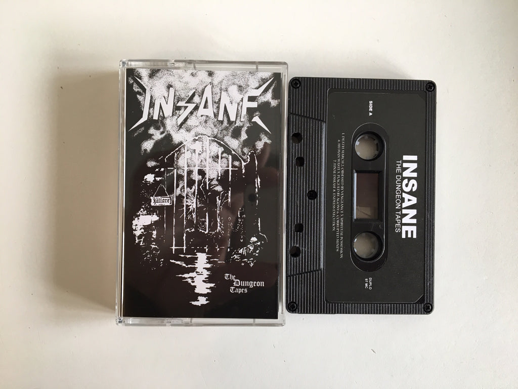 INSANE - The Dungeon Tapes MC (BLACK)