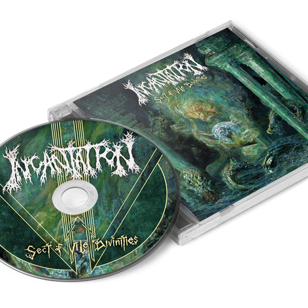 INCANTATION - Sect Of Vile Divinities CD (PRE-ORDER)
