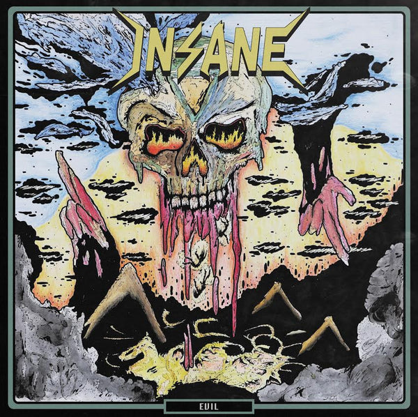 INSANE - Evil LP (coloured w/patch)