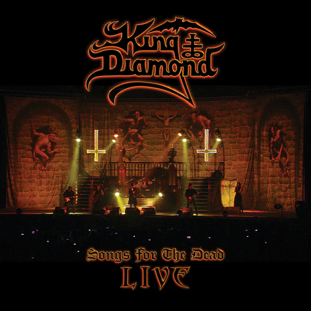 KING DIAMOND - Songs for the Dead Live 2LP (AMBER MARBLED)