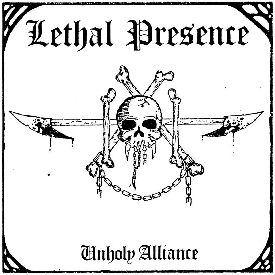 LETHAL PRESENCE - Unholy Alliance CD