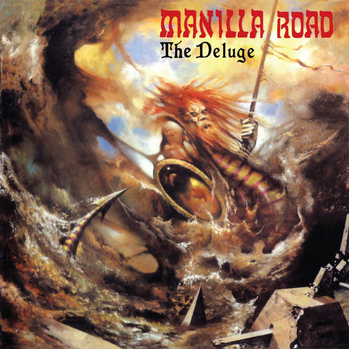 MANILLA ROAD - The Deluge CD*
