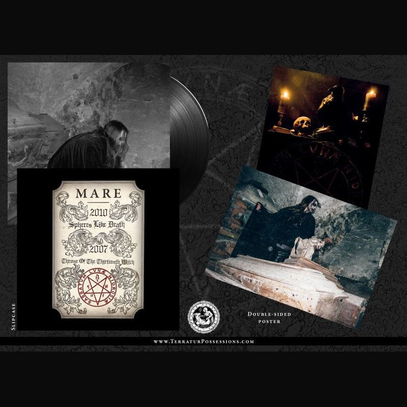 MARE - Spheres Like Death & Throne Of The Thirteenth Witch LP (PREORDER)