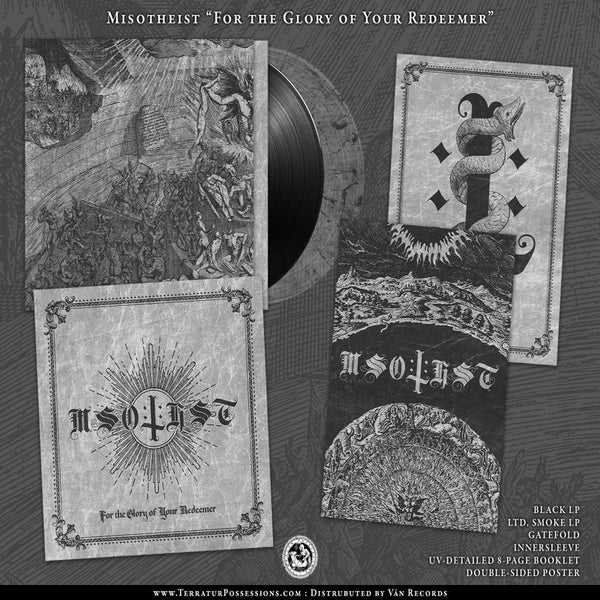 MISOTHEIST - The Glory Of Your Redeemer LP (BLACK) (PREORDER)