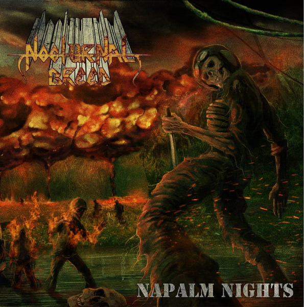 NOCTURNAL BREED - Napalm Nights 2LP