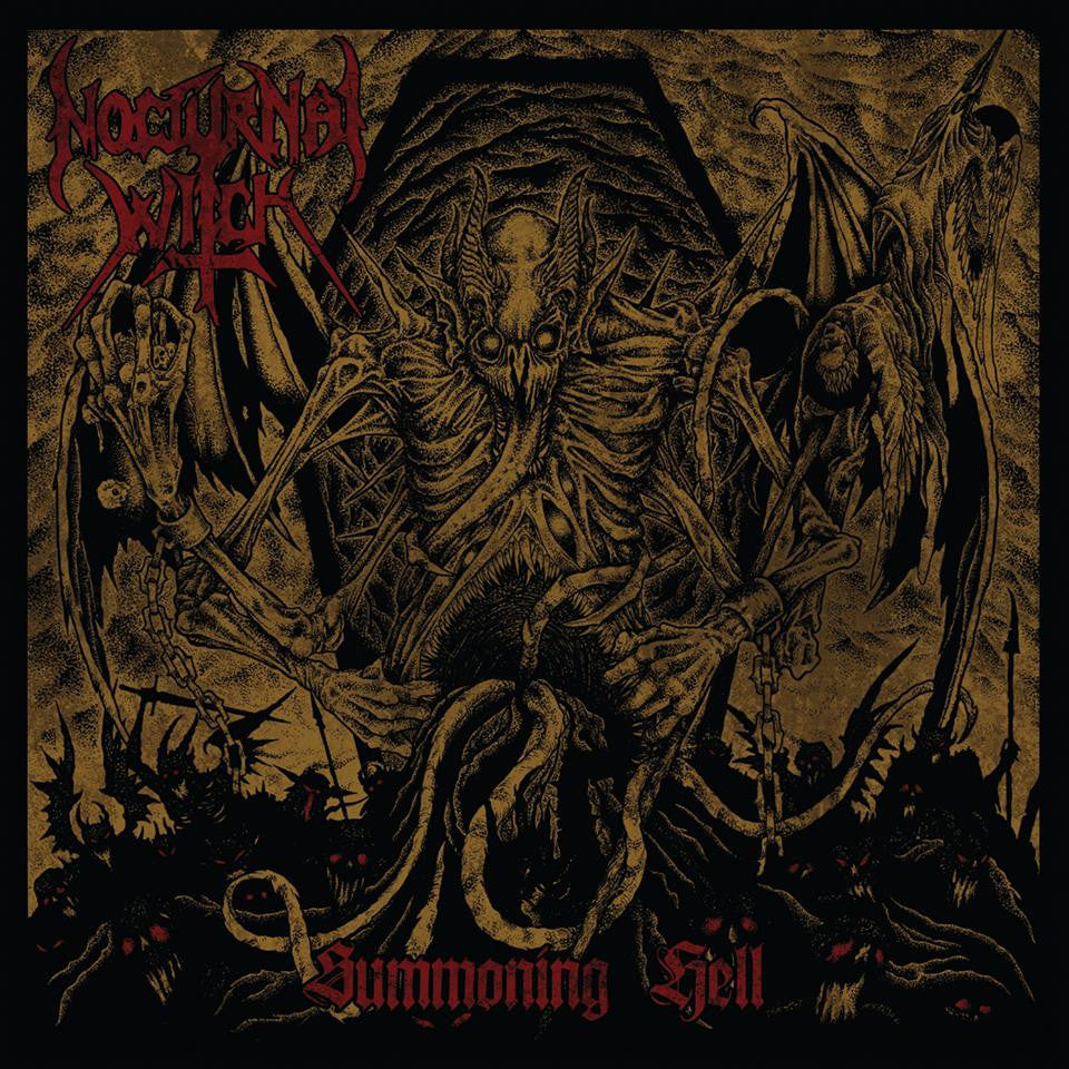 NOCTURNAL WITCH - Summoning Hell CD