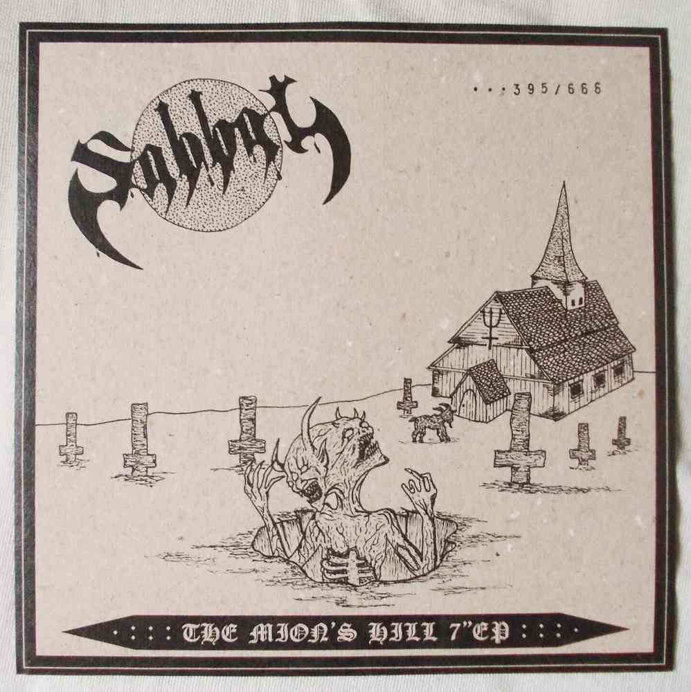"SABBAT - The Mion's Hill 7""EP"