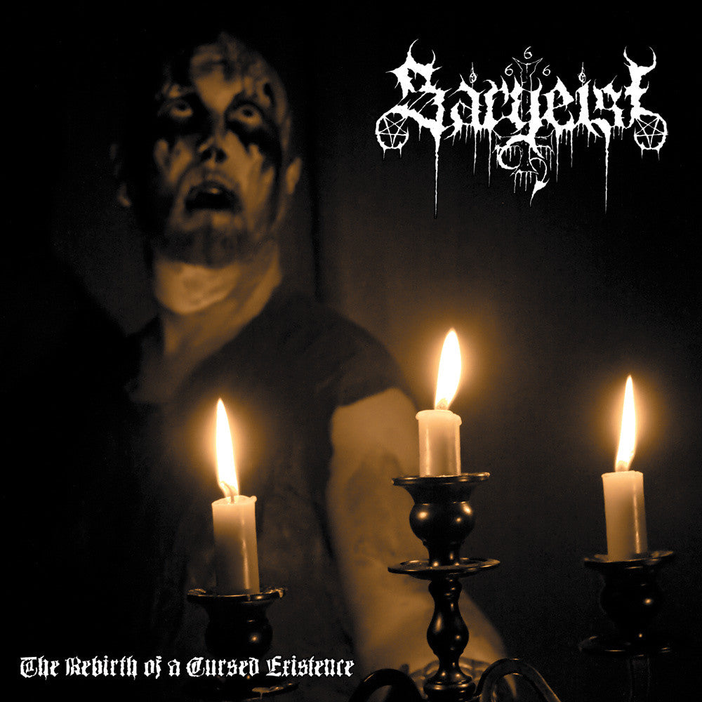 SARGEIST - The Rebirth Of A Cursed Existence CD