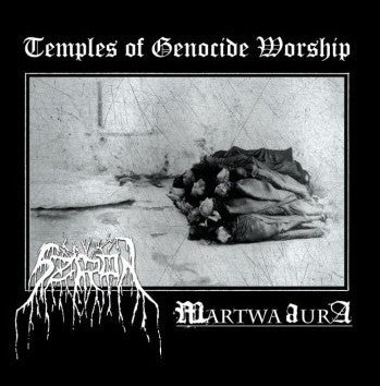 SZRON / MARTWA AURA - Temples of Genocide Worship CD