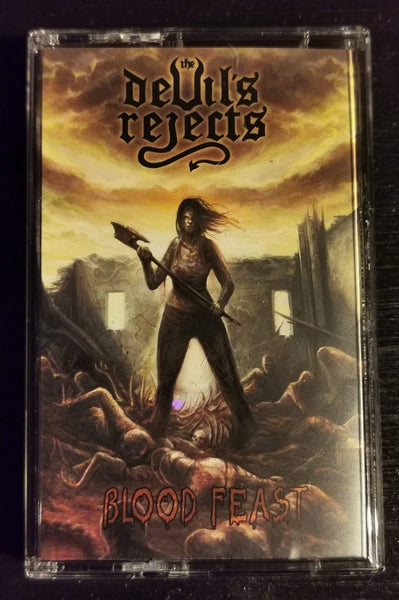 THE DEVIL'S REJECTS - Blood Feast TAPE (PRE-ORDER)