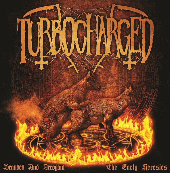 TURBOCHARGED - Branded And Arrogant LP
