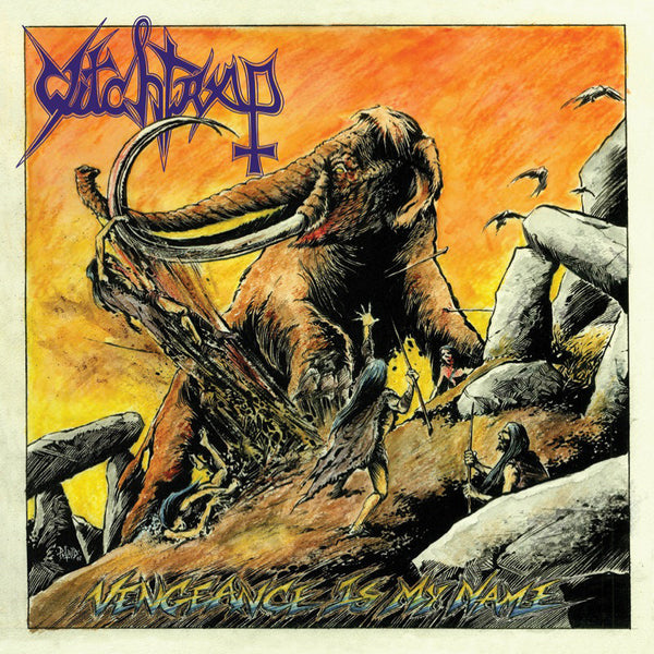 WITCHTRAP - Vengeance Is My Name CD