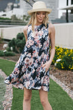 Floral Swing Dress - Nickel and Birch