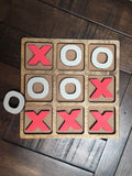 Tic Tac Toe Set - Nickel and Birch