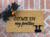 Witch Halloween Doormat - Nickel and Birch