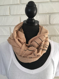 Due Date Scarf - Nickel and Birch