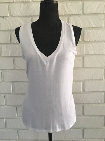 Easy Breezy V Neck Tank - Nickel and Birch