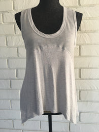 Waffle Scoop Neck Tank Top - Nickel and Birch