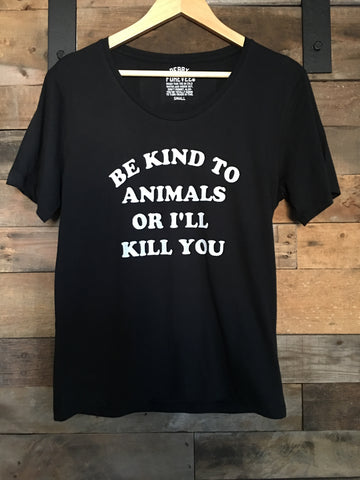 Be Kind to Animals Tee - Nickel and Birch