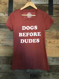 Dogs Before Dudes Tee - Nickel and Birch