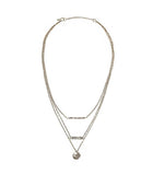 Harmony Layered Necklace - Nickel and Birch