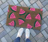 Summertime Watermelon Doormat - Nickel and Birch