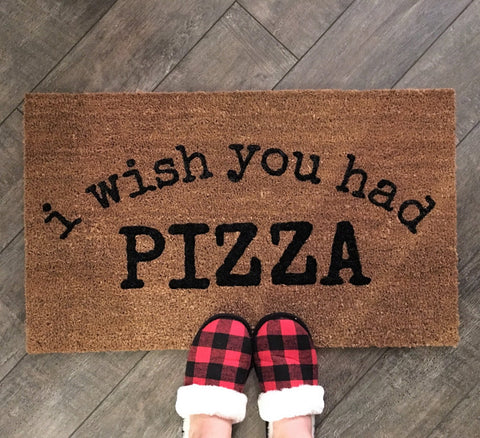 TACOS, PIZZA FOOD Doormat - Nickel and Birch