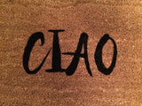 CIAO Outdoor Doormat - Nickel and Birch