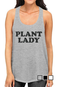 Plant Lady Racerback Tank Top - Nickel and Birch