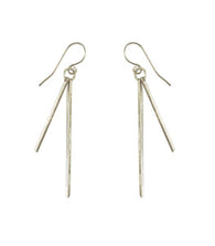 Sierra Stick Earrings - Nickel and Birch