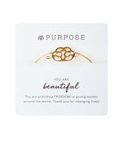 Purpose Jewelry Signature Bracelet - Nickel and Birch