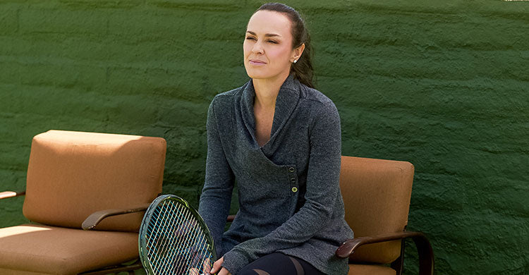Martina Hingis on Fitness and Fashion
