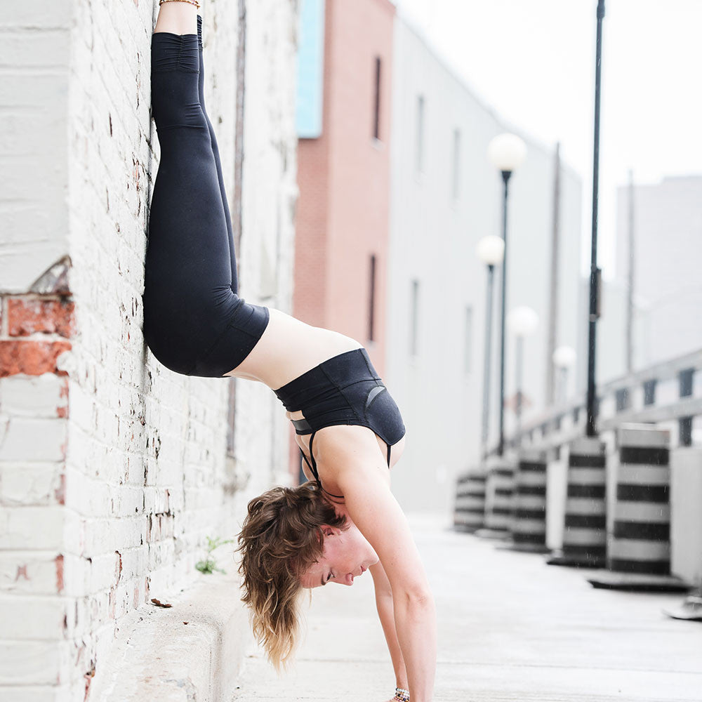 Tonic Active Tribe Member Jenna Switzer Black Bra Legging