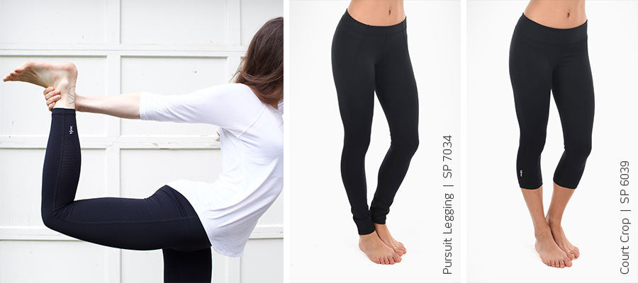 Tonic Active Black Legging