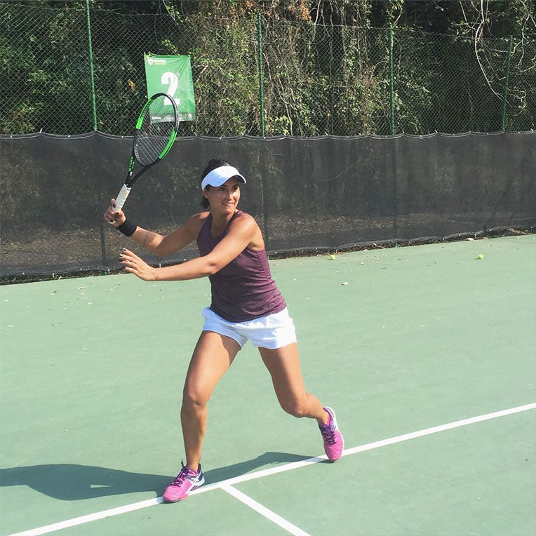 Tonic Active Tennis Tribe Member Paula Goncalves