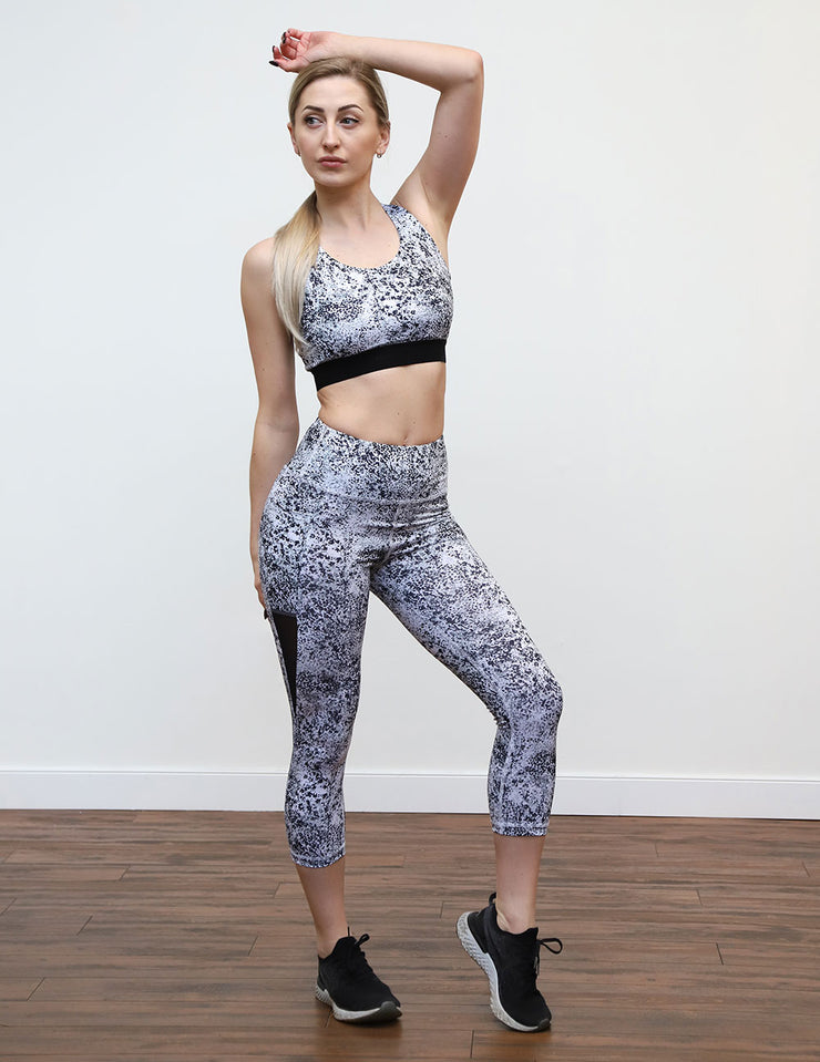Piranha Crop Legging 21""