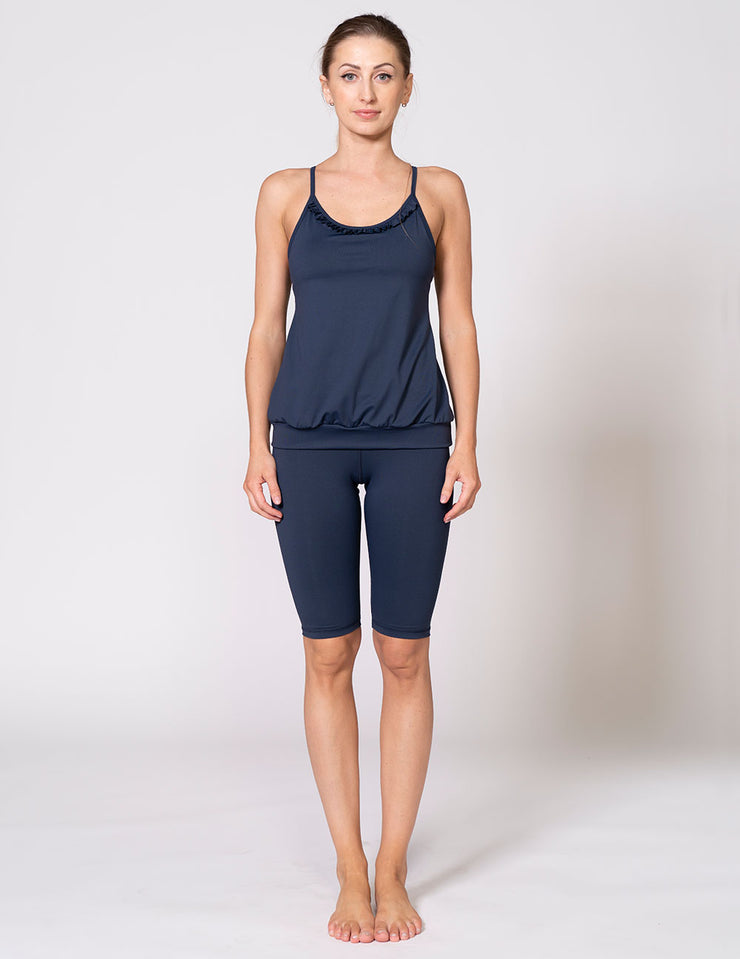 The Ruffle Free Spin Tank