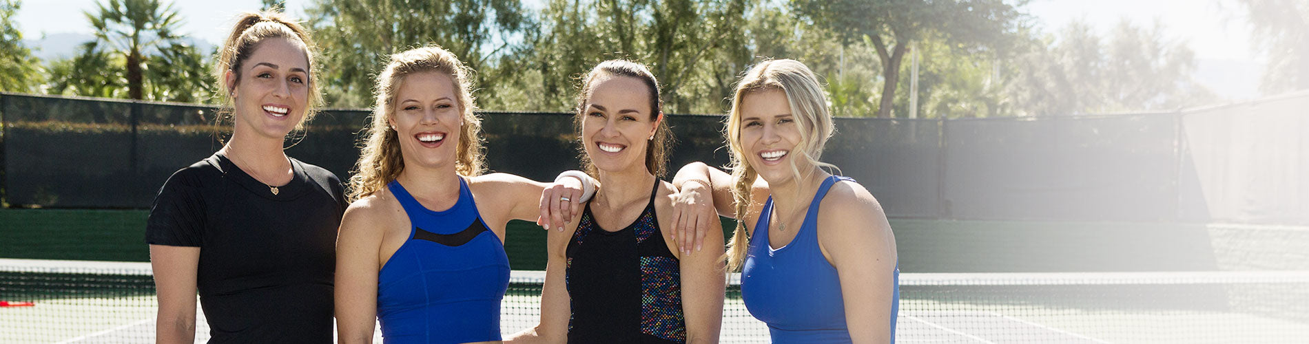 Tonic Tennis collaboration with Martina Hingis