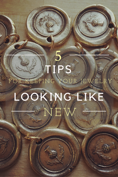 5 Tips For Keeping Your Jewelry Looking Like New!