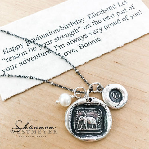 Wax Seal Jewelry Personalization