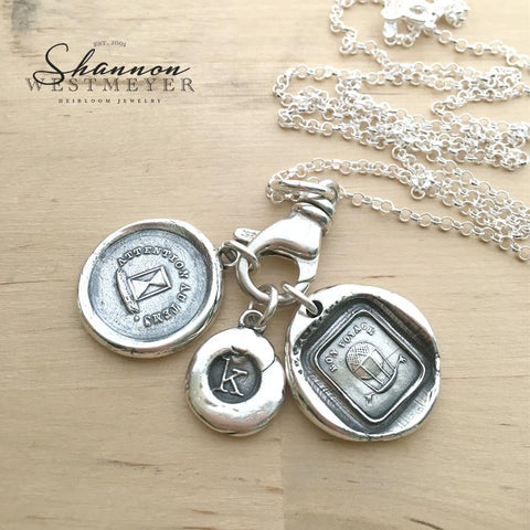 Shannon Westmeyer Wax Seal Jewelry
