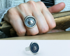Faith Not Fear Wax Seal Ring-Shannon Westmeyer Jewelry