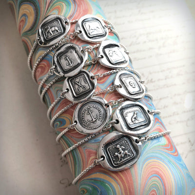 Reason Is My Strength - Adjustable Wax Seal Bracelet-Shannon Westmeyer Jewelry