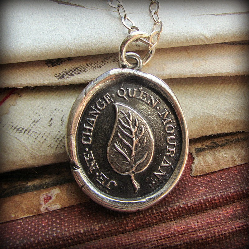 I Change Only In Death - Shannon Westmeyer Jewelry - 3