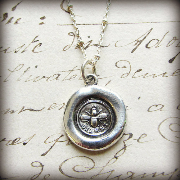 Bee Silent Wax Seal - Shannon Westmeyer Jewelry - 1